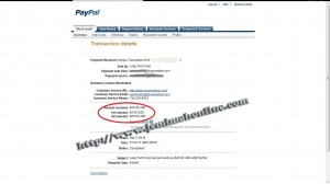 First blogvertise payment proof