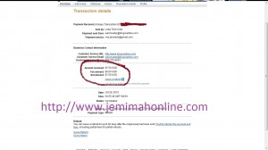 Filipino second proof of payment from blogvetise