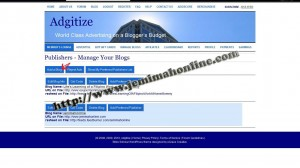 How to add a blog in adgitize image